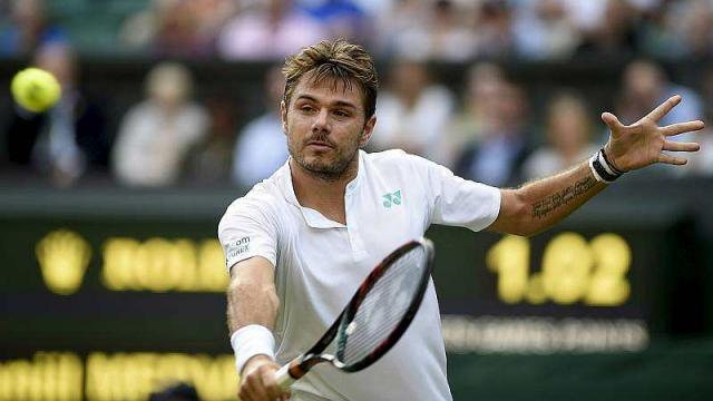 Tennis. Wimbledon (1er tour): Wawrinka battu d'entrée!